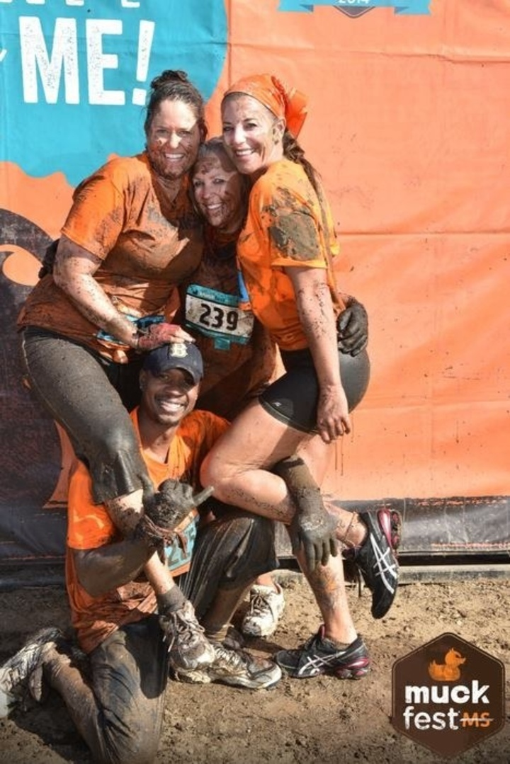 Team Felicia At Ms Muckfest T-Shirt Photo