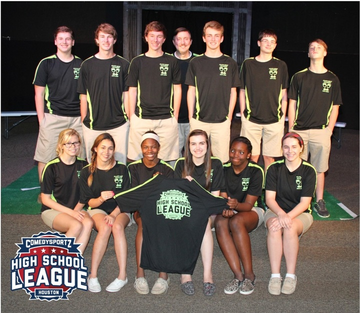 Faith West Academy Comedy Sportz Team 2014 15 T-Shirt Photo