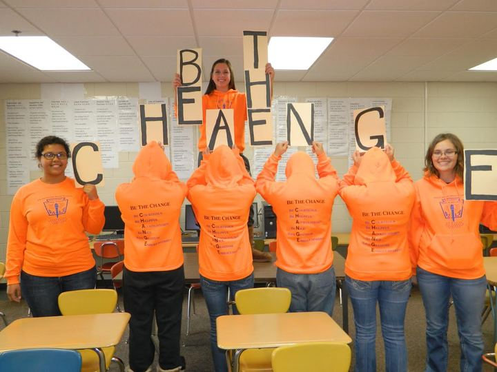 Be The Change T-Shirt Photo