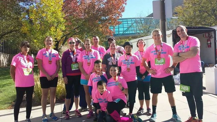 Kansas City Marathon Relay Teams T-Shirt Photo
