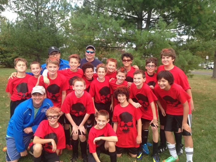 Spook A Rama Soccer Champs! T-Shirt Photo