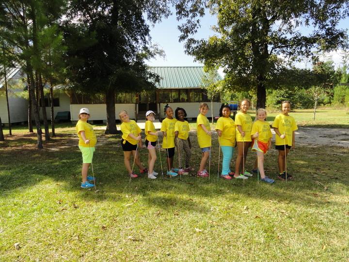 Girl Scout Camping Trip T-Shirt Photo