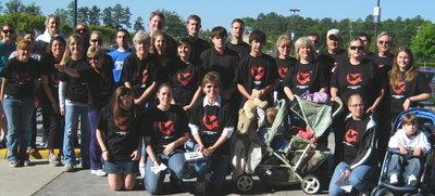 "Walk Like Madd Team, ""In Loving Memory Of Derrick"" T-Shirt Photo"