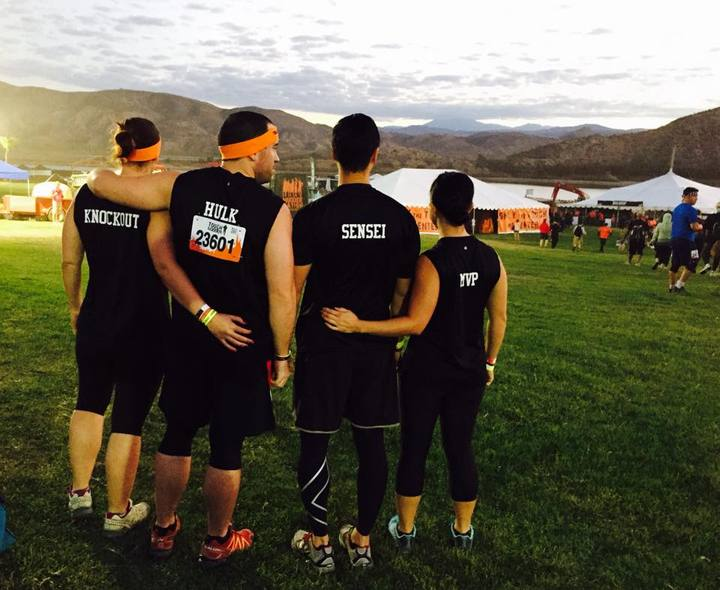 Team Free Yourself At Tough Mudder So Cal 2014 T-Shirt Photo