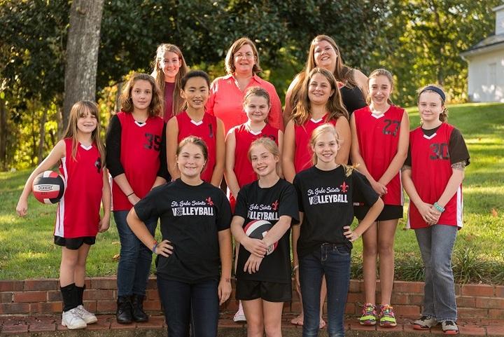 Elementary & Jv Teams St. Jude School T-Shirt Photo