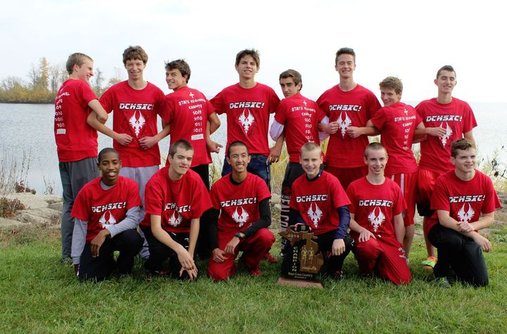 Dchsxc! 2014 Regional Champs T-Shirt Photo