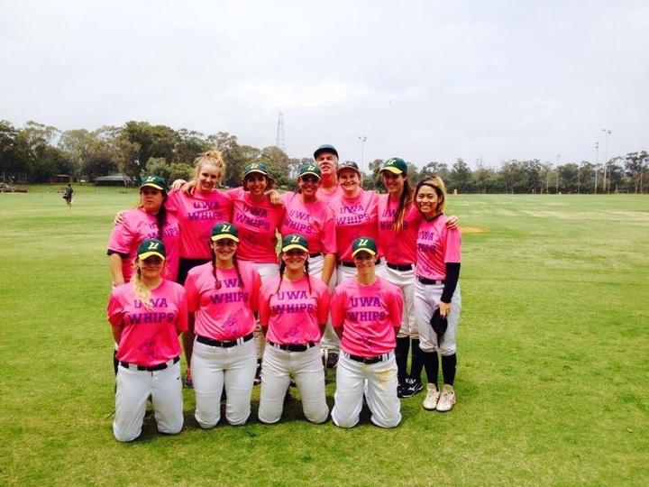 Baseball Ladies T-Shirt Photo