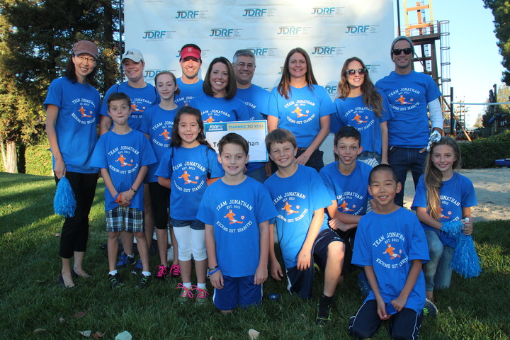 Jdrf: Walk For A Cure: Team Jonathan T-Shirt Photo