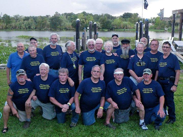 Galeta Island Navy Reunion T-Shirt Photo