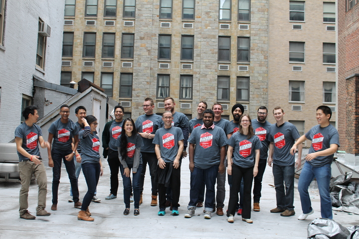 Graduates Celebrate Completion Of Fullstack Academy! T-Shirt Photo