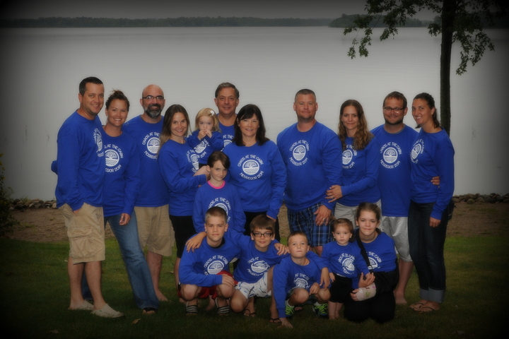 Chaos At The Cabin T-Shirt Photo