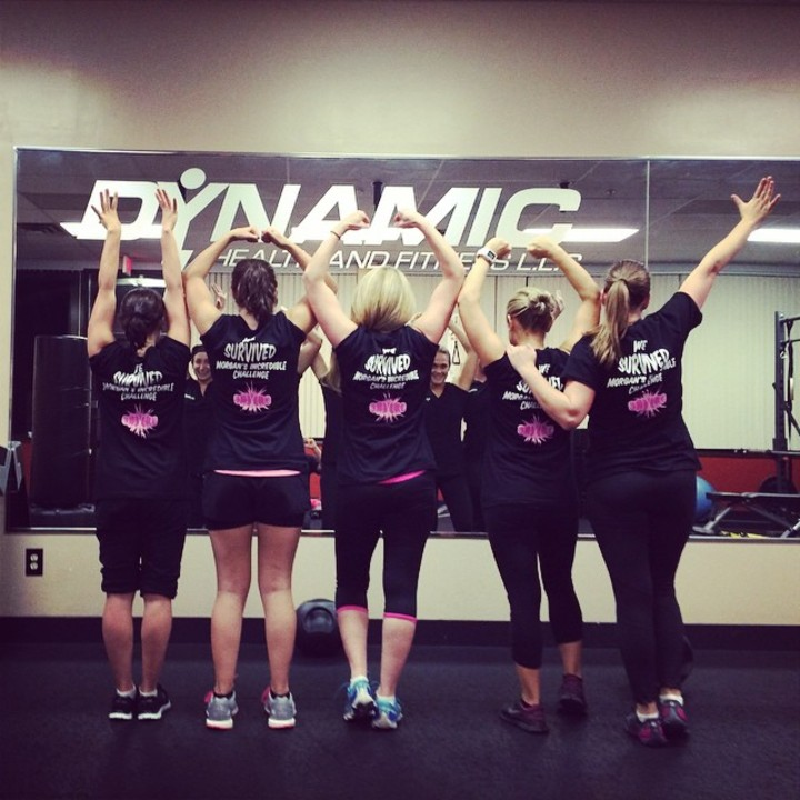 Dynamic Fitness T-Shirt Photo