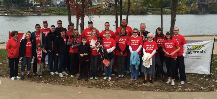 Ohio Valley Heart Walk Team Fleah's Company T-Shirt Photo