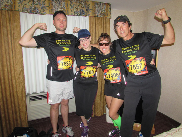 The Dharma Bums Running Club T-Shirt Photo