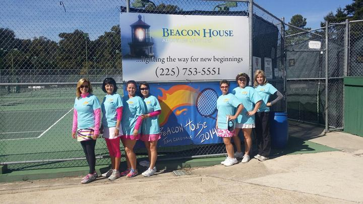 Ladies Tennis Team T-Shirt Photo