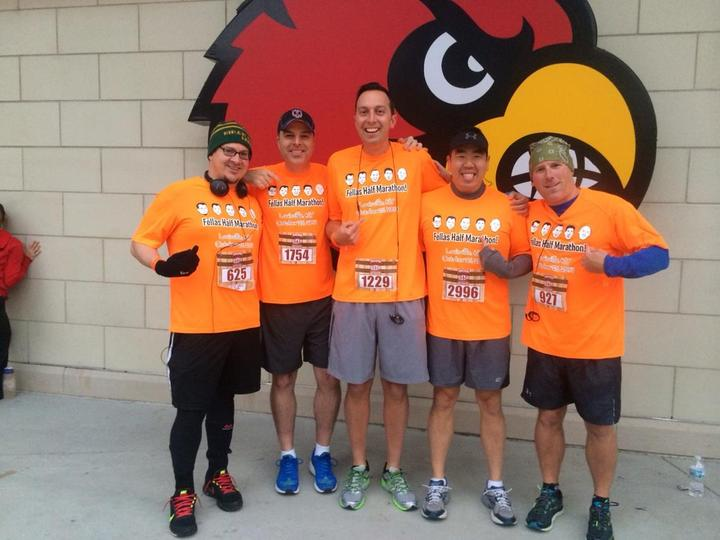 Fellas Half Marathon 2014 T-Shirt Photo