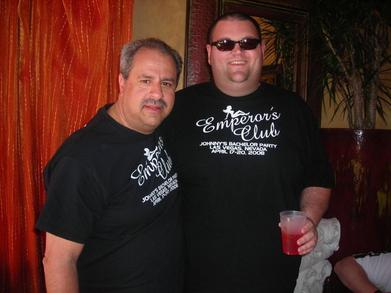 "The Bachelor And One Of His Fellow ""Clients"" T-Shirt Photo"