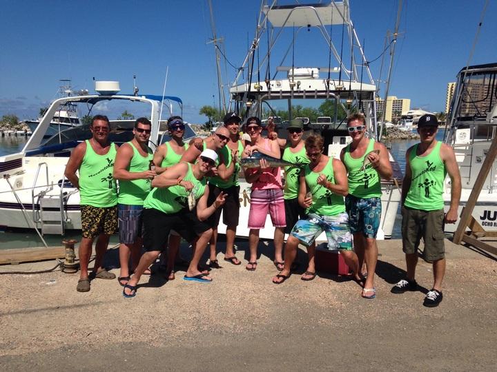 Jamaica Deep Sea Fishing T-Shirt Photo