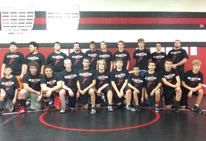 Be Better Wrestling Camp T-Shirt Photo