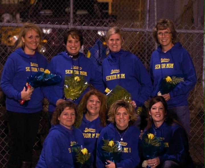 Colfax High School Football Senior Moms   Class Of 2015 T-Shirt Photo
