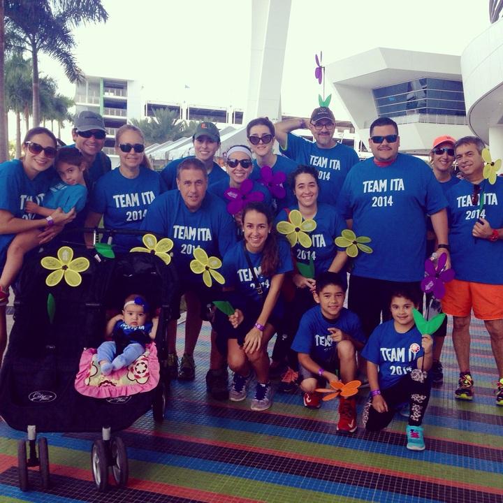 Walk To End Alzheimer's  Team Ita T-Shirt Photo