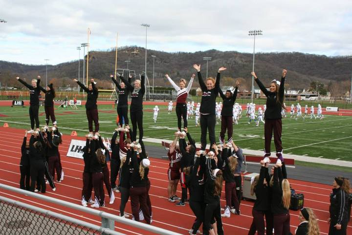 Uw La Crosse Cheer + Stunt Team And Alumni T-Shirt Photo