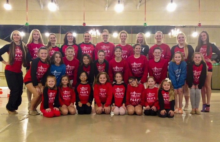 Footprints Dance Studio Dancers T-Shirt Photo