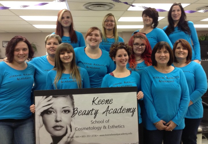 Keene Beauty Academy Is A Cut Above With Custom Ink! T-Shirt Photo