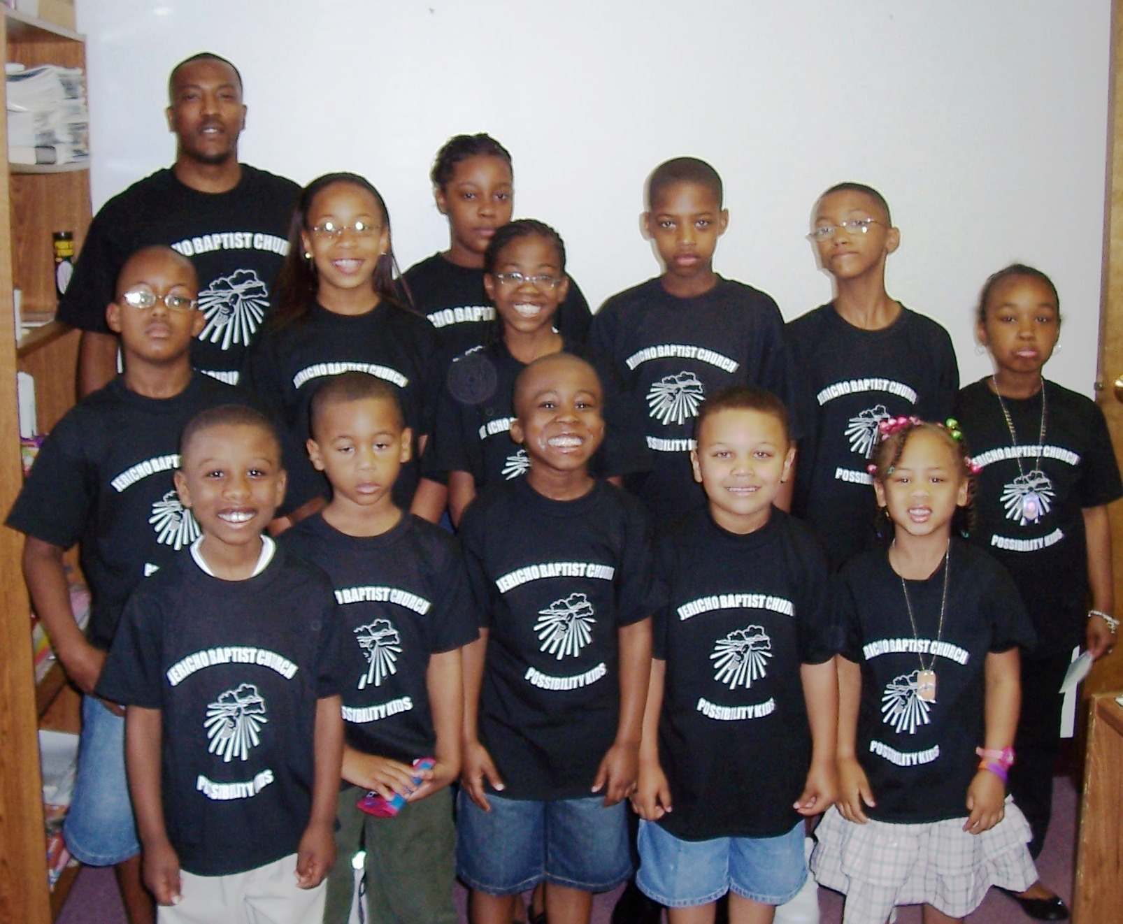 jericho baptist church childrens choir t shirt photo