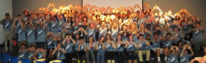 "Oakton Deca Gives A ""Diamonds Up"" For Their Custom Ink Shirts! T-Shirt Photo"