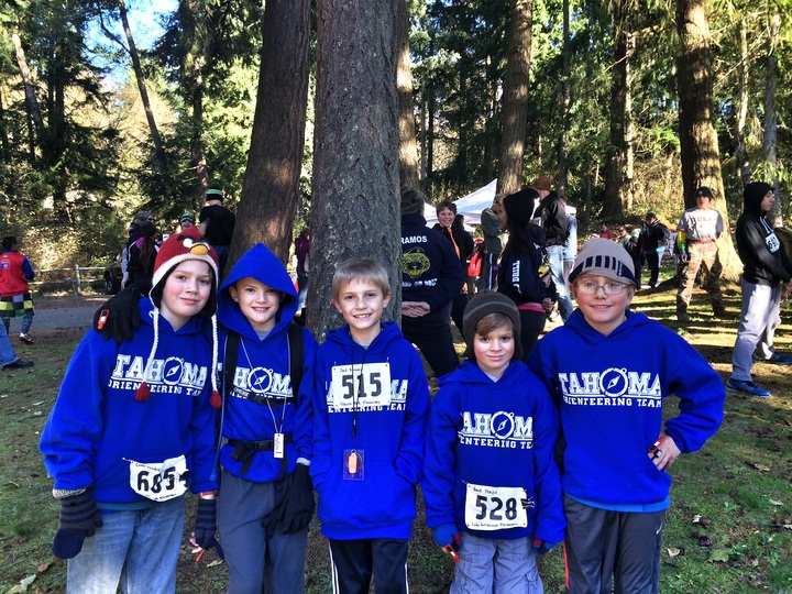 Tahoma Orienteering Team T-Shirt Photo
