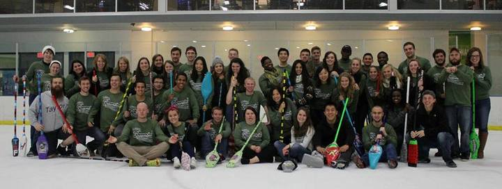 Broomball 2014 T-Shirt Photo