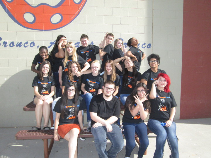 The Bronco Heat Is Flaming! T-Shirt Photo