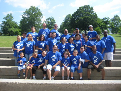 Justin's Team T-Shirt Photo