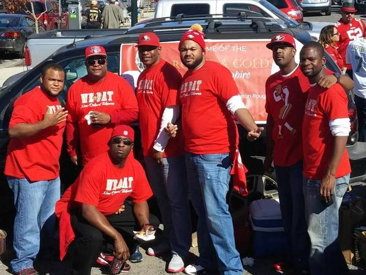 Niner Empire Takes Over Superdome! T-Shirt Photo