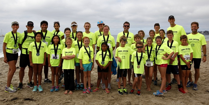 Triathlon Kids Raise Over $30,000 For The Foodbank! T-Shirt Photo