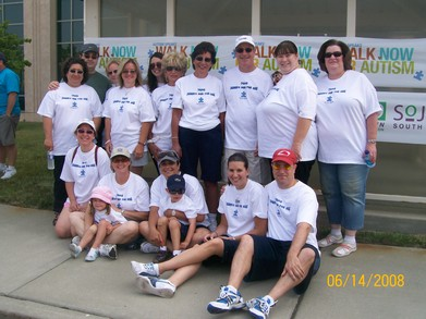 Andrews Autism Walk T-Shirt Photo