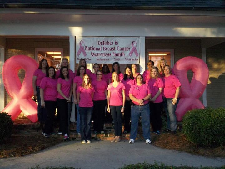 Mammograms Save Lives...One Of Them May Be Yours! T-Shirt Photo