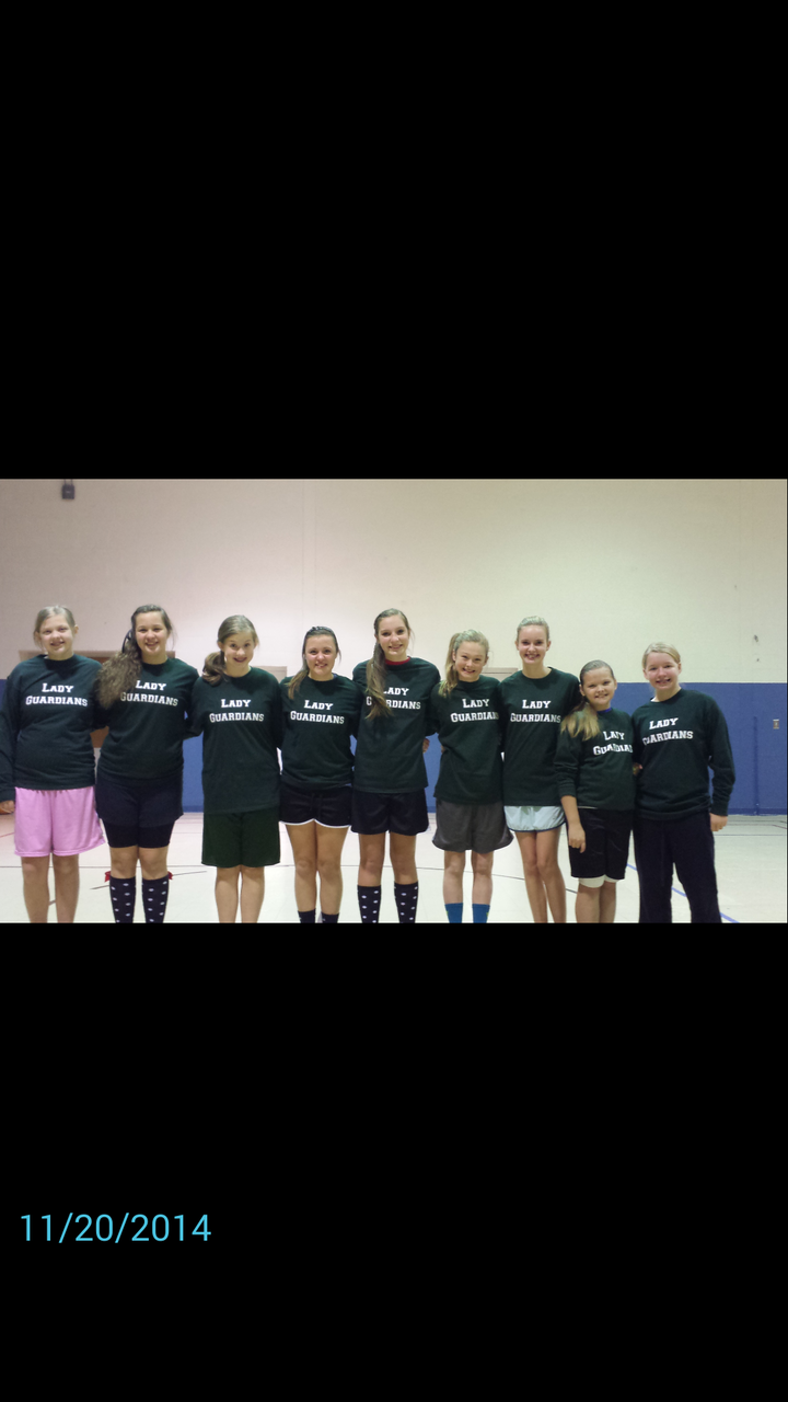 Go Lady Guardians!  T-Shirt Photo
