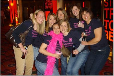 Andrea's Bachelorette Party T-Shirt Photo