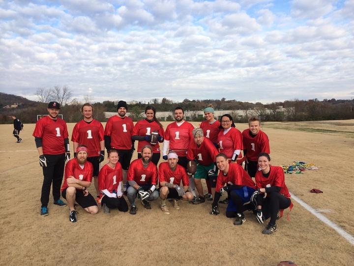 Team Cmt   2014 Music Row Turkey Bowl T-Shirt Photo