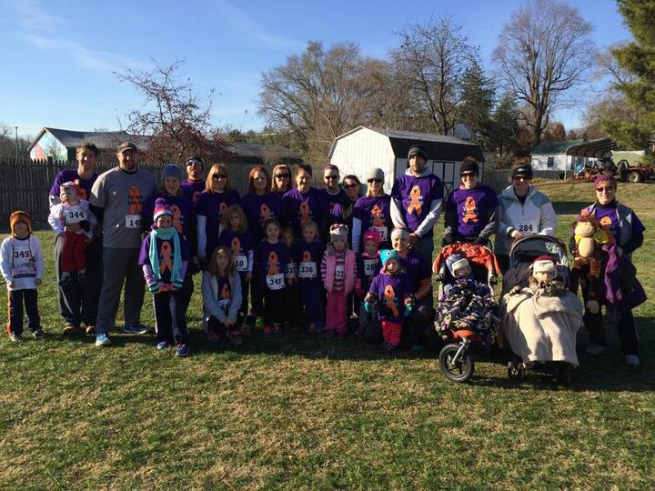 Team Chloe, Luray Turkey Trot T-Shirt Photo
