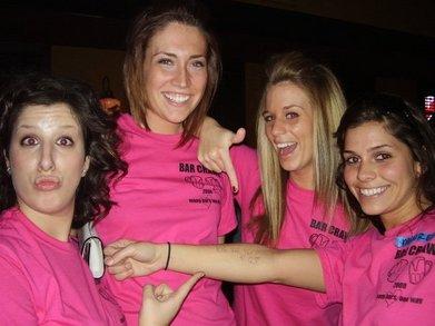 Bar Crawl/Scavenger Hunt '08. T-Shirt Photo