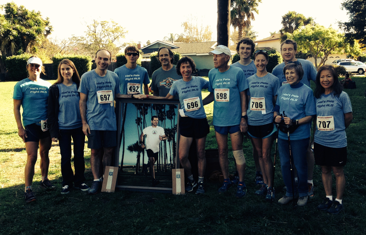 Racing For A Cure For Als T-Shirt Photo