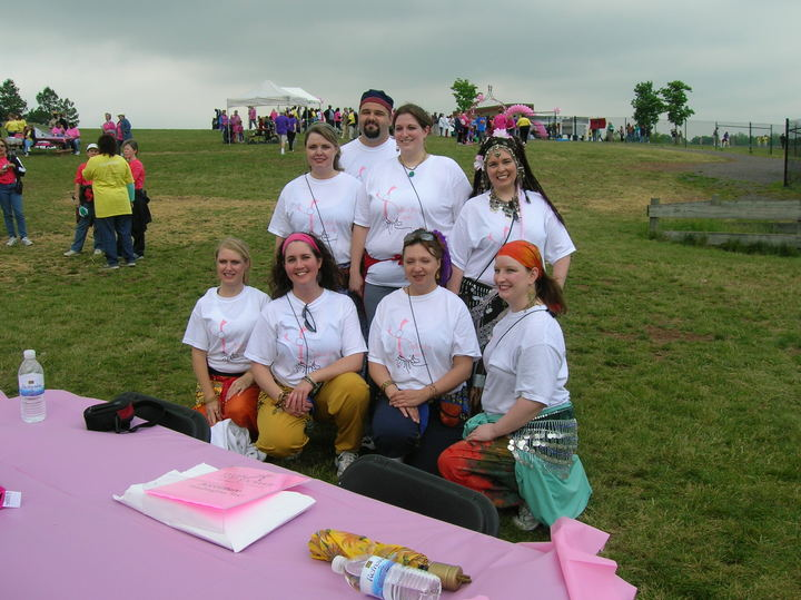 Bellies For Breasts At The D.C. Yme Breast Cancer Walk T-Shirt Photo