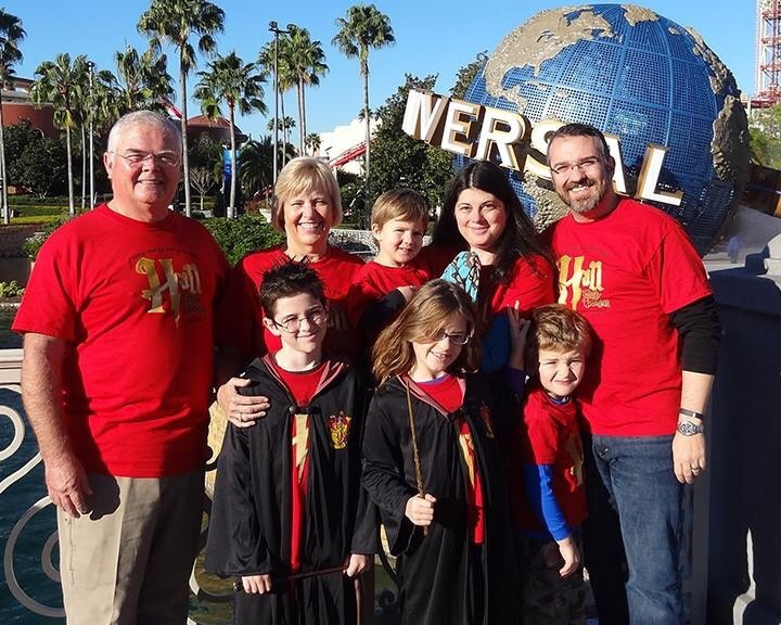 Hall Family Vacation T-Shirt Photo