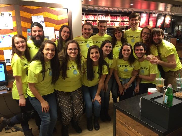 Marymount Manhattan's Theatre Arts Student Recruiters T-Shirt Photo