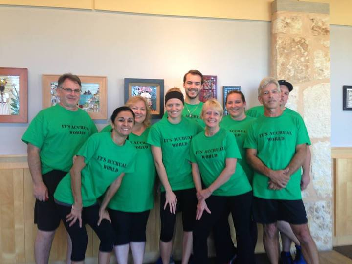 Accounting Dodgeball Team 2014 T-Shirt Photo