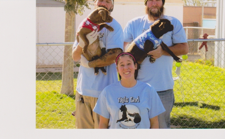 Tails End Animal Shelter T-Shirt Photo