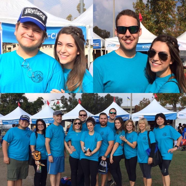 Hope For A Curr Guild Walk A Thon Team T-Shirt Photo